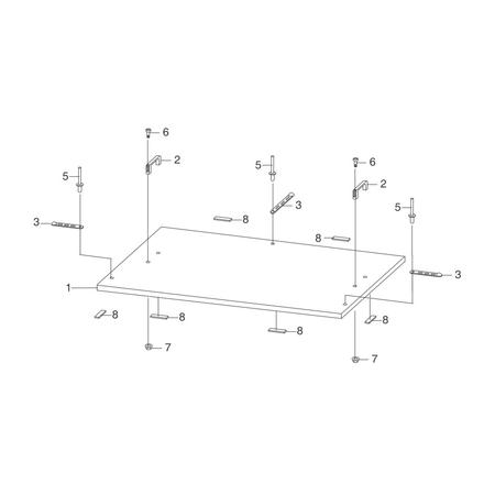 Крышка для разбрасывателя песка S 90 Titan | 13-7928-11