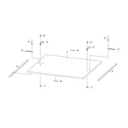 Крышка для разбрасывателя песка SL 90 Titan | 13-7929-11