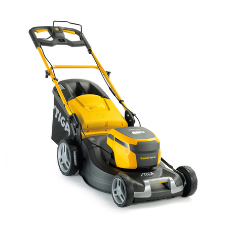Аккумуляторная газонокосилка Stiga Combi 50 S AE самоходная | 294506008/S17