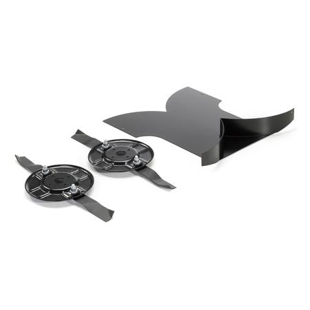 Комплект для мульчирования (включая ножи) к райдерам с травосборником (серия MPV)   2A0112070/S17